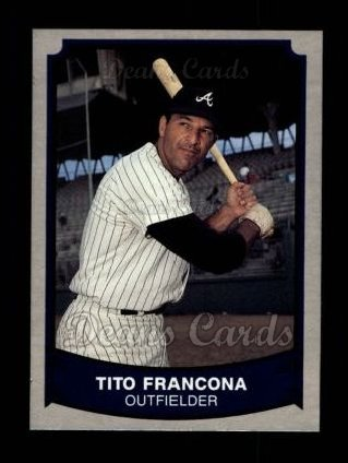 1989 Pacific Legends #133  Tito Francona
