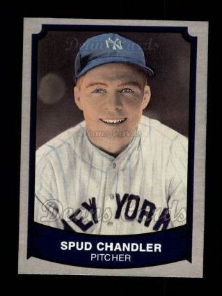 1989 Pacific Legends #136  Spud Chandler