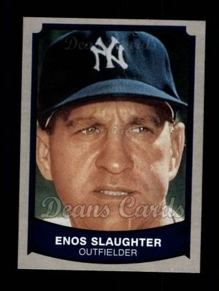 1989 Pacific Legends #137  Enos Slaughter