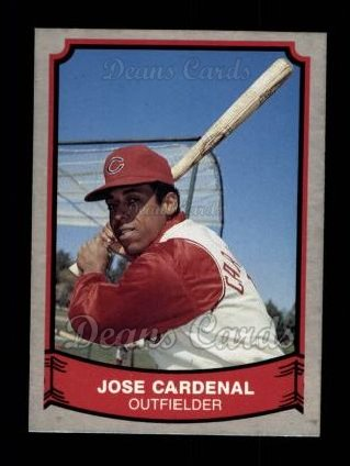 1989 Pacific Legends #149  Jose Cardenal