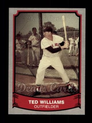1989 Pacific Legends #154  Ted Williams