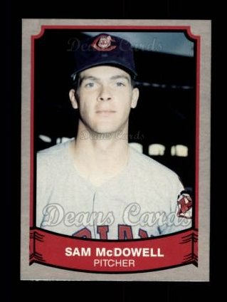 1989 Pacific Legends #155  Sam McDowell