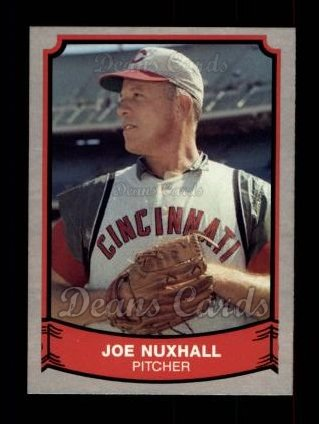 1989 Pacific Legends #161  Joe Nuxhall