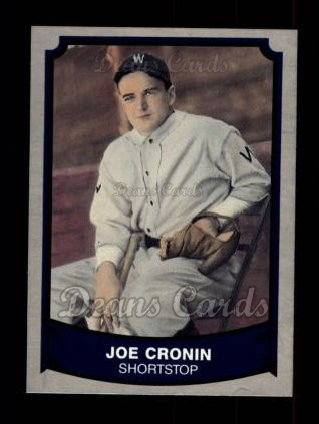 1989 Pacific Legends #167  Joe Cronin