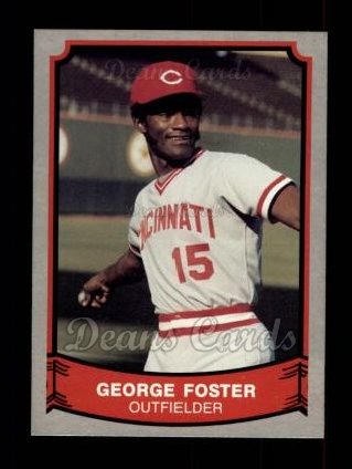 1989 Pacific Legends #173  George Foster
