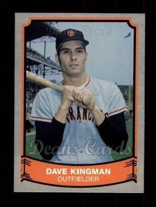 1989 Pacific Legends #175  Dave Kingman