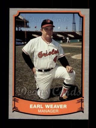 1989 Pacific Legends #179  Earl Weaver