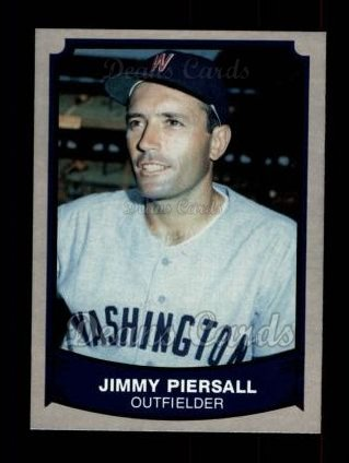 1989 Pacific Legends #182  Jimmy Piersall