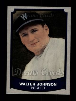 1989 Pacific Legends #192  Walter Johnson