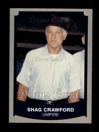 1989 Pacific Legends #199  Shag Crawford