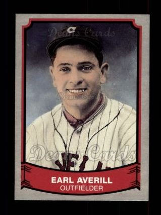 1989 Pacific Legends #203  Earl Averill