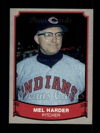 1989 Pacific Legends #205  Mel Harder