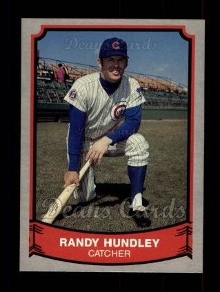 1989 Pacific Legends #207  Randy Hundley