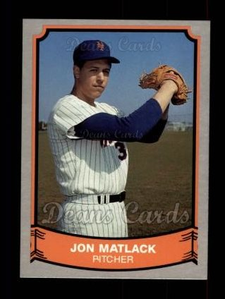 1989 Pacific Legends #214  Jon Matlack