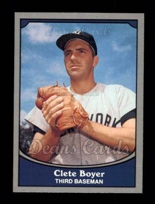 1990 Pacific Legends #10  Clete Boyer