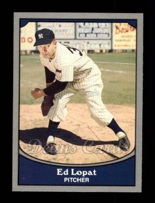 1990 Pacific Legends #38  Eddie Lopat