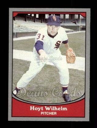 1990 Pacific Legends #57  Hoyt Wilhelm