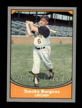 1990 Pacific Legends #77  Smoky Burgess