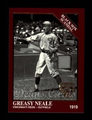 1994 Conlon Burgundy #1028   -  Greasy Neale Black Sox Scandal