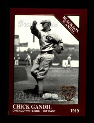 1994 Conlon Burgundy #1031   -  Chick Gandil Black Sox Scandal