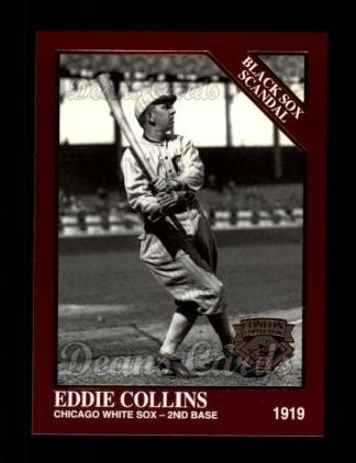1994 Conlon Burgundy #1040   -  Eddie Collins Black Sox Scandal