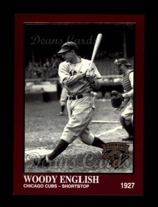 1994 Conlon Burgundy #1240  Woody English