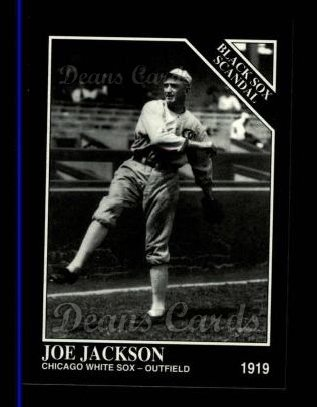 1994 Conlon #1030   -  Joe Jackson Black Sox Scandal
