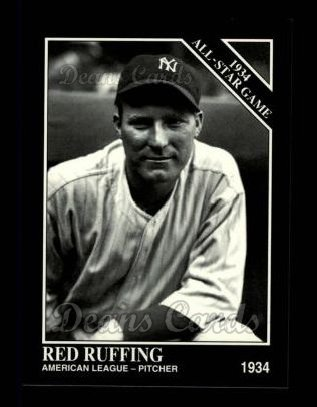 1994 Conlon #1078   -  Red Ruffing 1934 All-Star Game