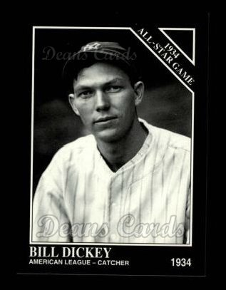 1994 Conlon #1086   -  Bill Dickey 1934 All-Star Game