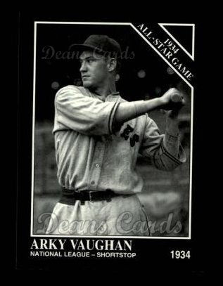 1994 Conlon #1102   -  Arky Vaughan 1934 All-Star Game