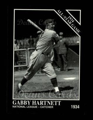 1994 Conlon #1103   -  Gabby Hartnett 1934 All-Star Game
