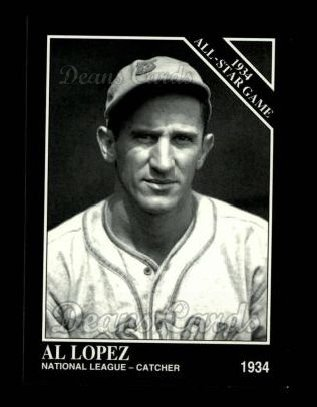 1994 Conlon #1104   -  Al Lopez 1934 All-Star Game