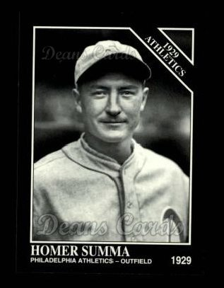 1994 Conlon #1147   -  Homer Summa 1929 Athletics