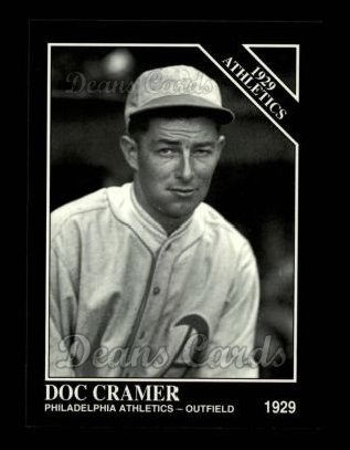 1994 Conlon #1154   -  Doc Cramer 1929 Athletics