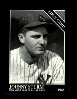 1994 Conlon #1312   -  Johnny Sturm First Card