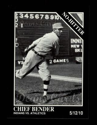 1992 Conlon #335   -  Chief Bender No-Hitter