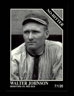 1992 Conlon #353   -  Walter Johnson No-Hitter
