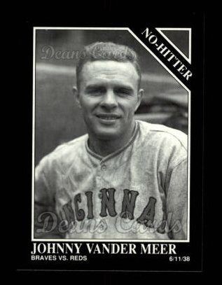 1992 Conlon #367   -  Johnny VanderMeer No-Hitter