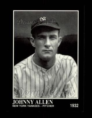 1992 Conlon #384  Johnny Allen