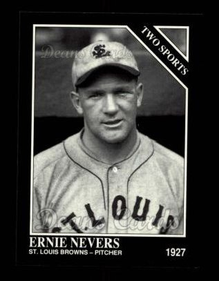 1992 Conlon #394   -  Ernie Nevers Two Sports