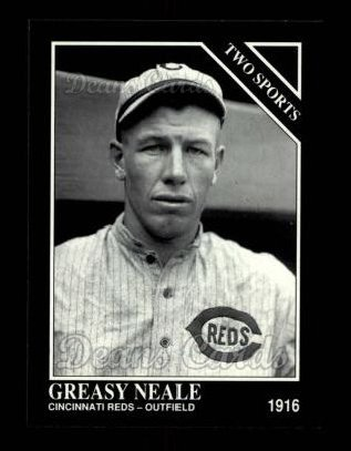 1992 Conlon #401   -  Greasy Neale Two Sports