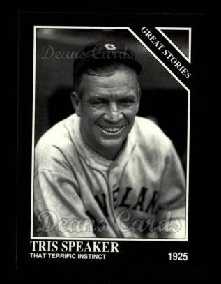 1992 Conlon #422   -  Tris Speaker Great Stories