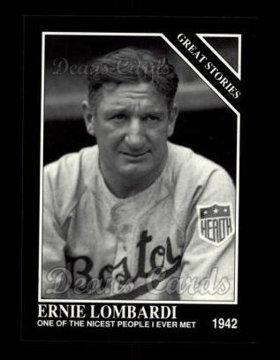 1992 Conlon #427   -  Ernie Lombardi Great Stories