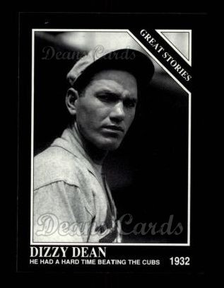 1992 Conlon #428   -  Dizzy Dean Great Stories