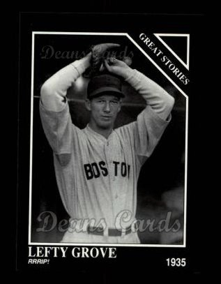 1992 Conlon #431   -  Lefty Grove Great Stories