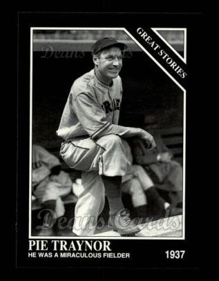 1992 Conlon #434   -  Pie Traynor Great Stories