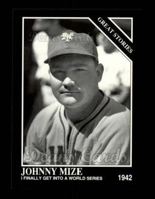 1992 Conlon #435   -  Johnny Mize Great Stories