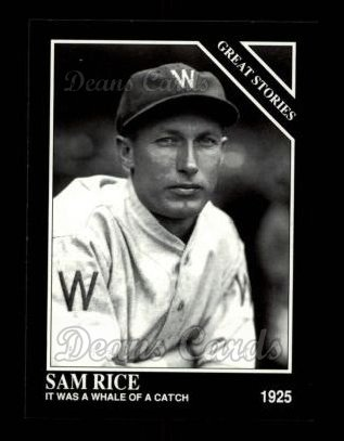 1992 Conlon #436   -  Sam Rice Great Stories