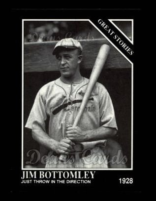 1992 Conlon #440   -  Jim Bottomley Great Stories
