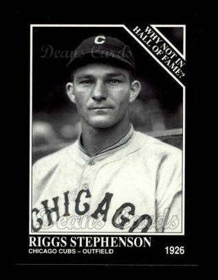 1992 Conlon #441   -  Riggs Stephenson Why Not in the Hall of Fame?